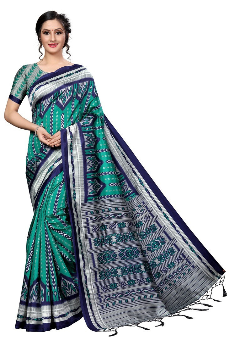 Designer Banarasi Art Silk Navy Blue With Wine Color Saree