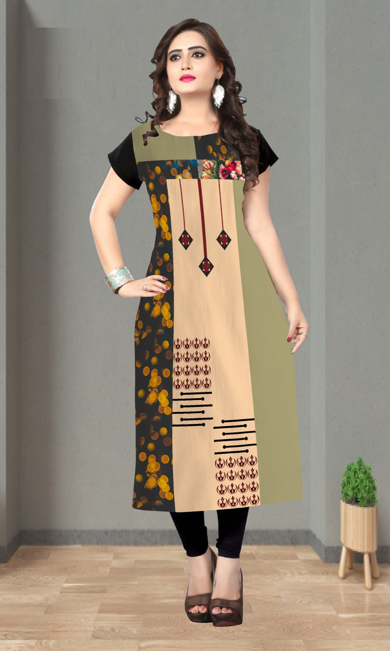Flamboyant Fancy And Uniq Kurti For Girls