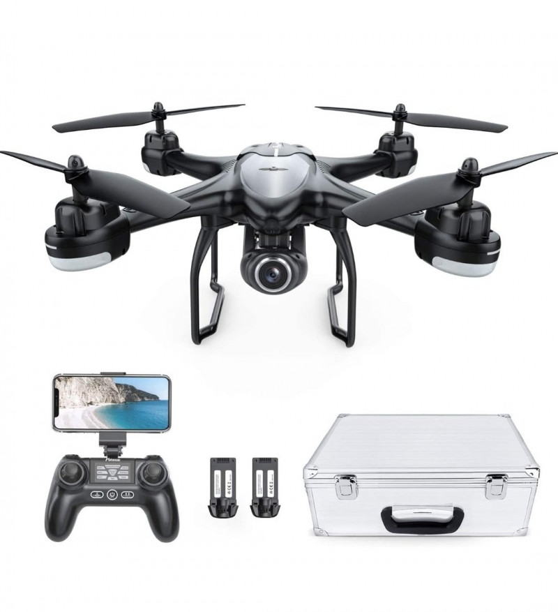 Foldable Drone with 18MP Wi-Fi Camera and Remote Control