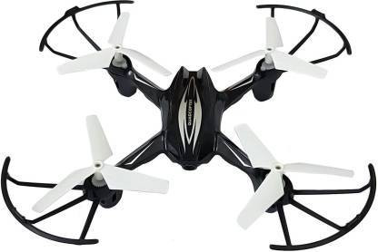 Drone 2.6 Ghz 6 Channel Remote Control Quadcopter without Camera for Kids Black