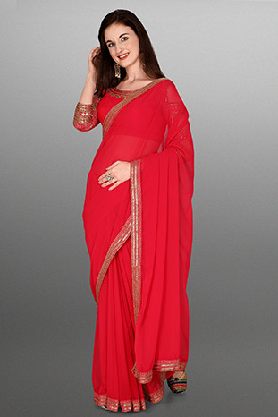 new designer silk saree