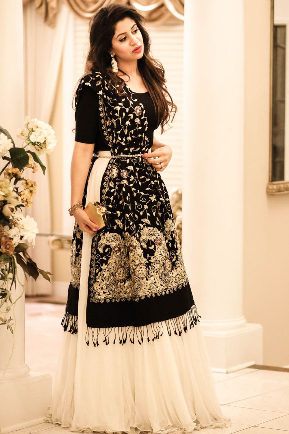 New Latest Black Awesome Lahenga Choli 2020