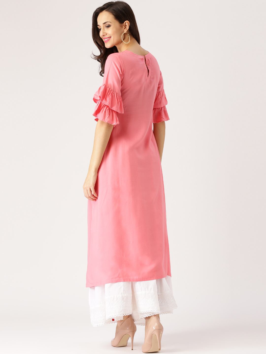 Staylist Pink color kurti