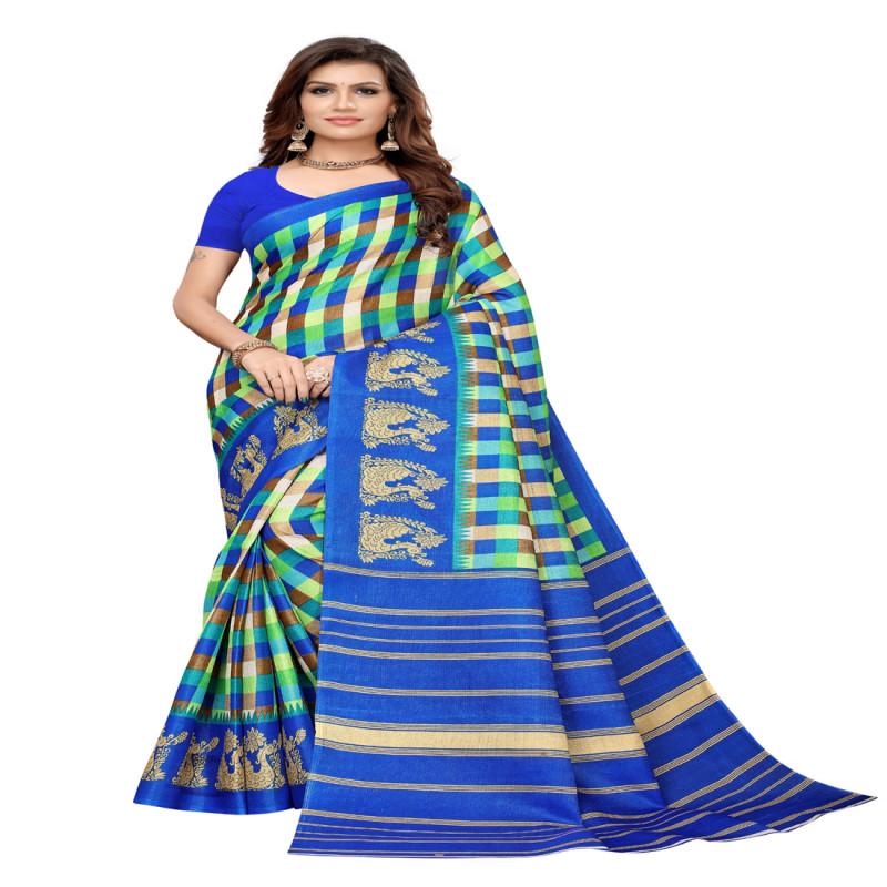 Designer And Party Wear Silk Saree