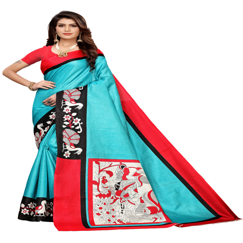 Designer Casual  and  Printed  mysore khadi silk saree