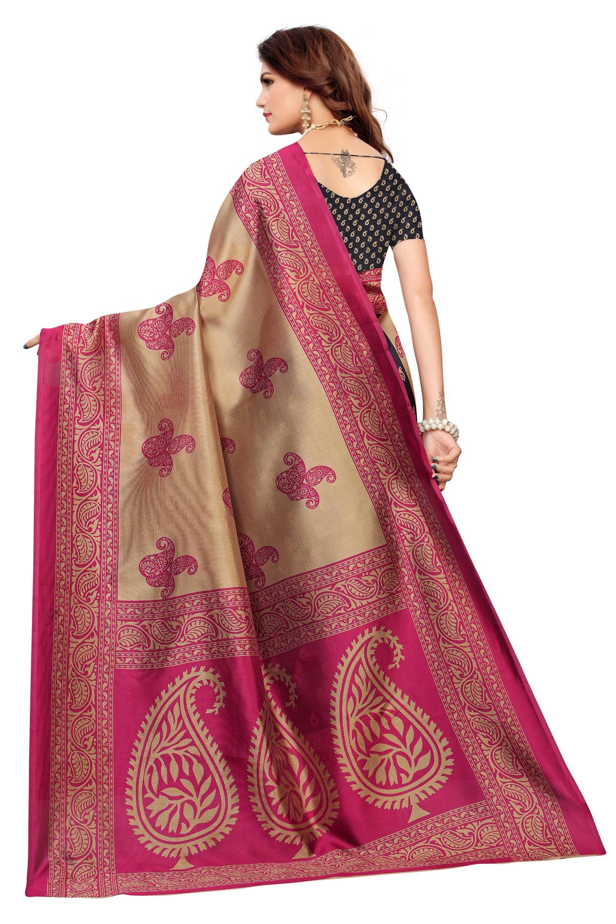 Designer Multi party wear Denting saree