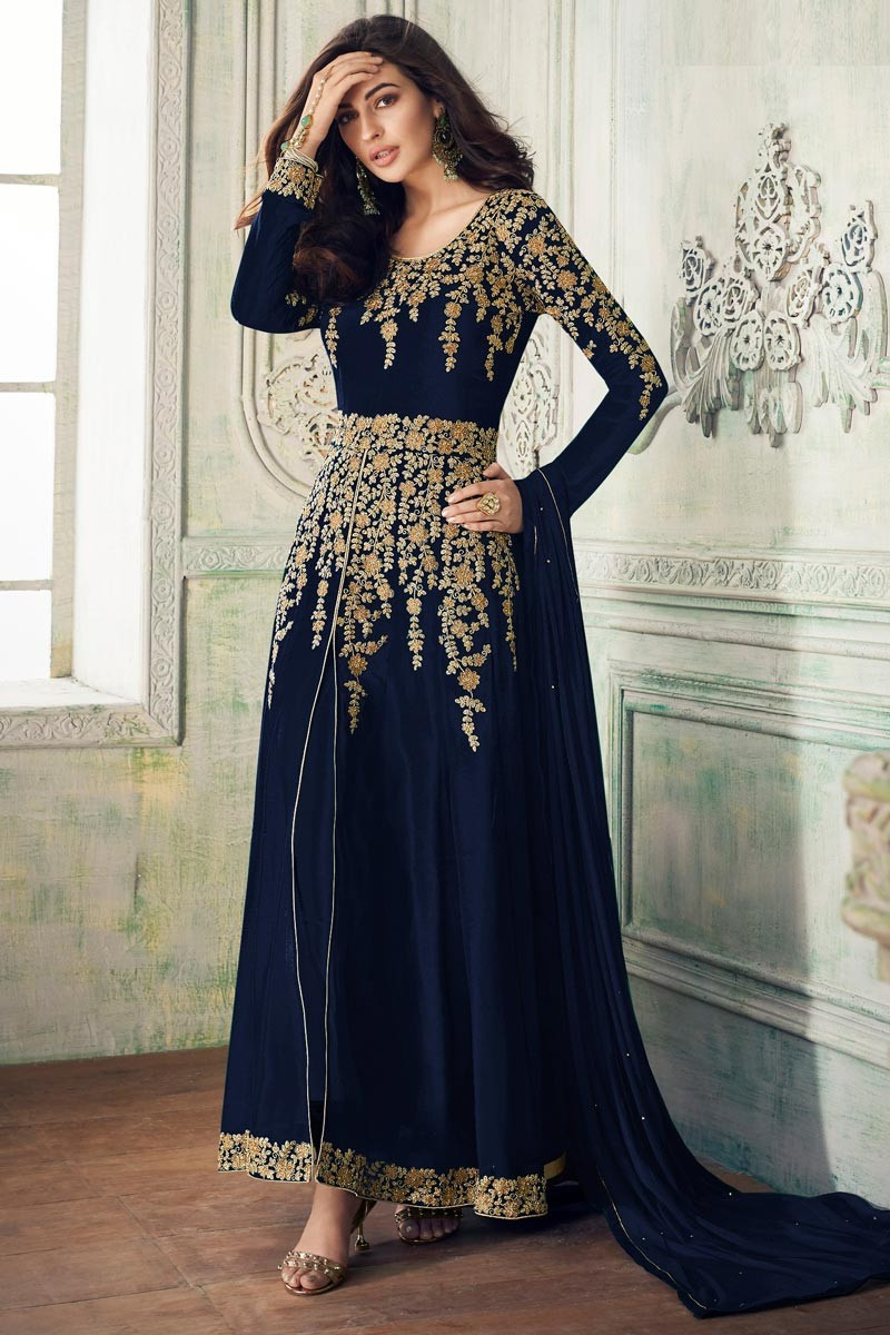 Delightful Wine Color  Wedding  Fox Georgette   Suit