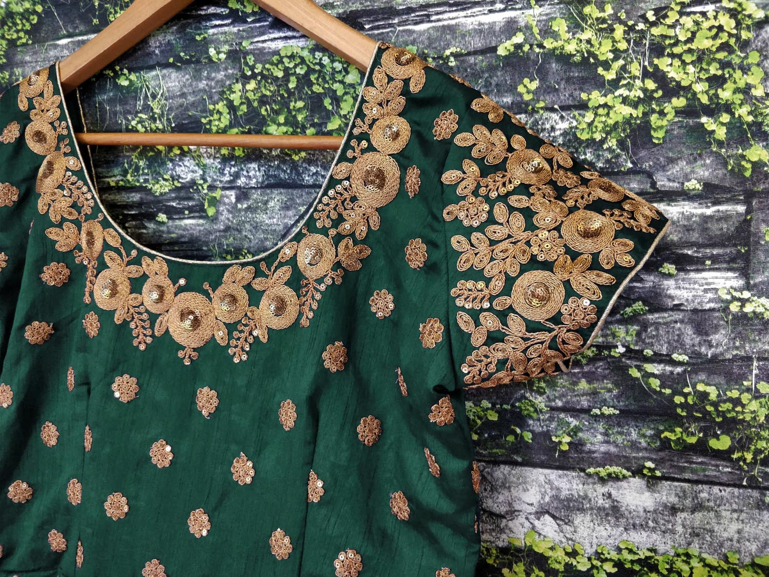 Exclusive Heavy Embroidery Work Green Color Anarkali Suit