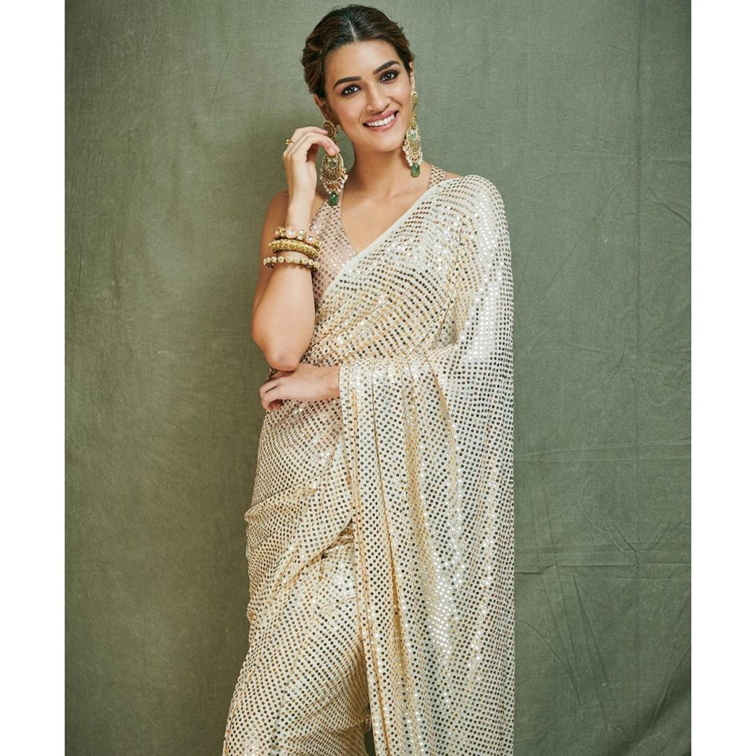 Stylish Sequence Bollywood Saree