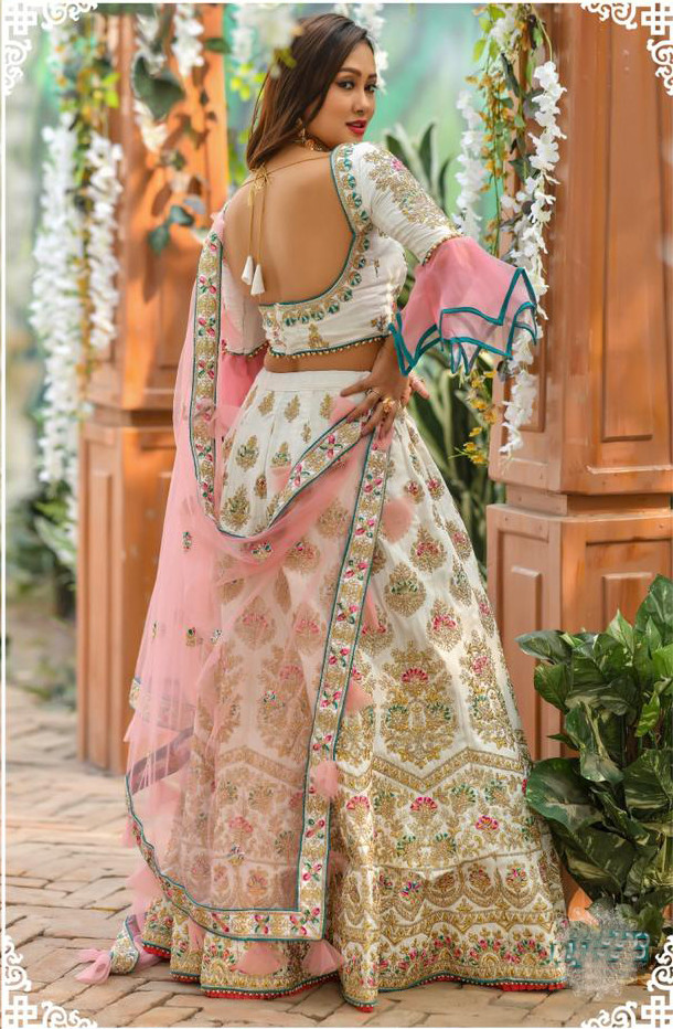 White Color Lehenga Choli