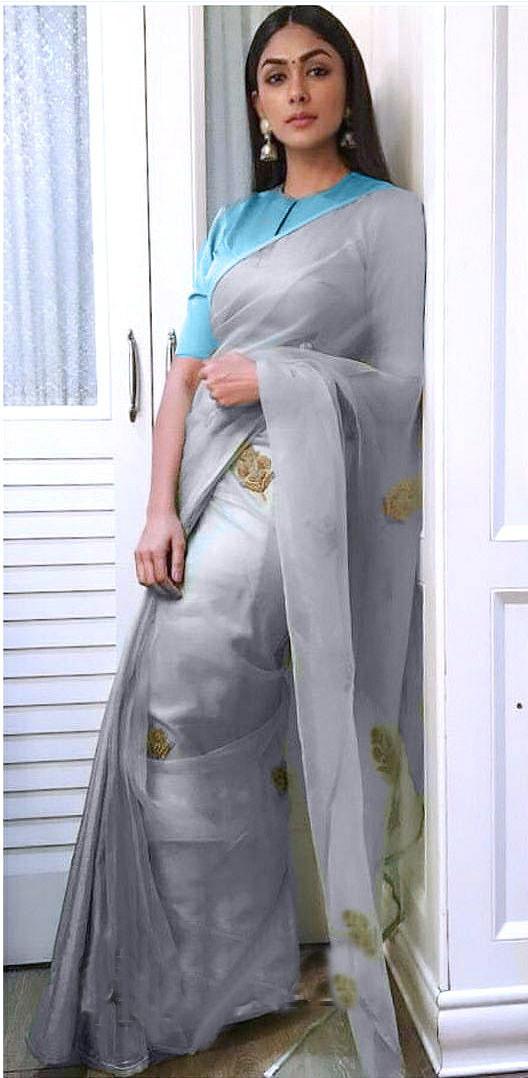 New  Organza Silk Saree Design