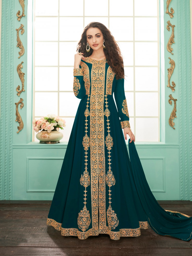 Morpich Color  Wedding And Party Wear Suit