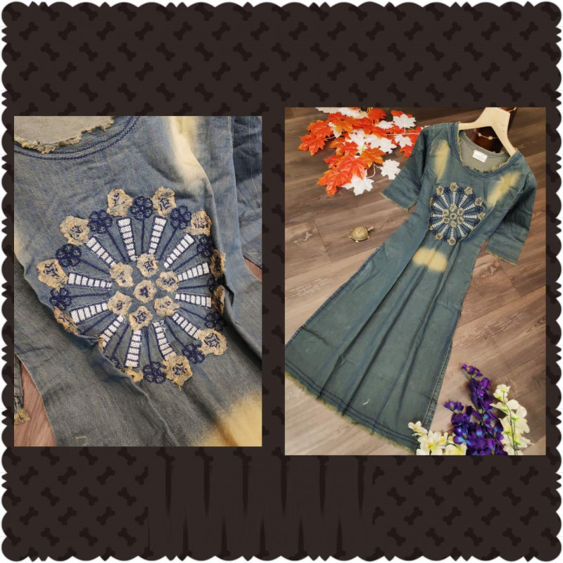 Denim Kurti Collection