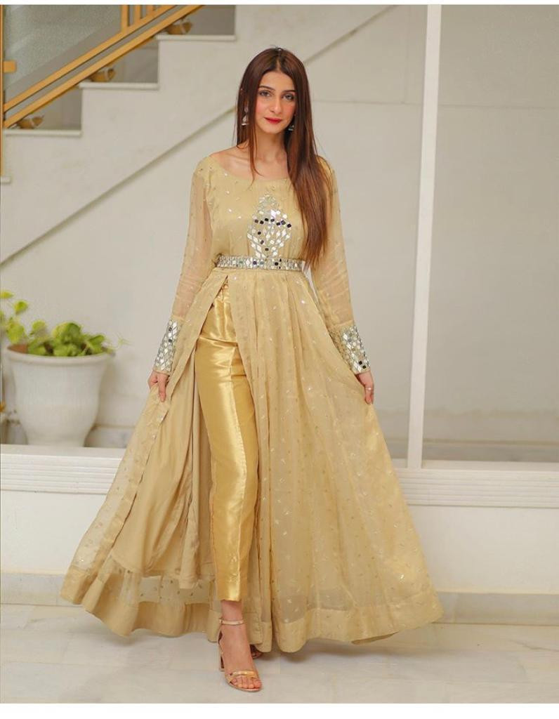Party Wear Pakistani Dress Design For Girl