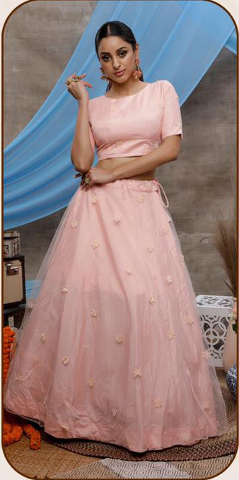 Light Pink Color Special Indo Western Three Piece  Collection For Festival