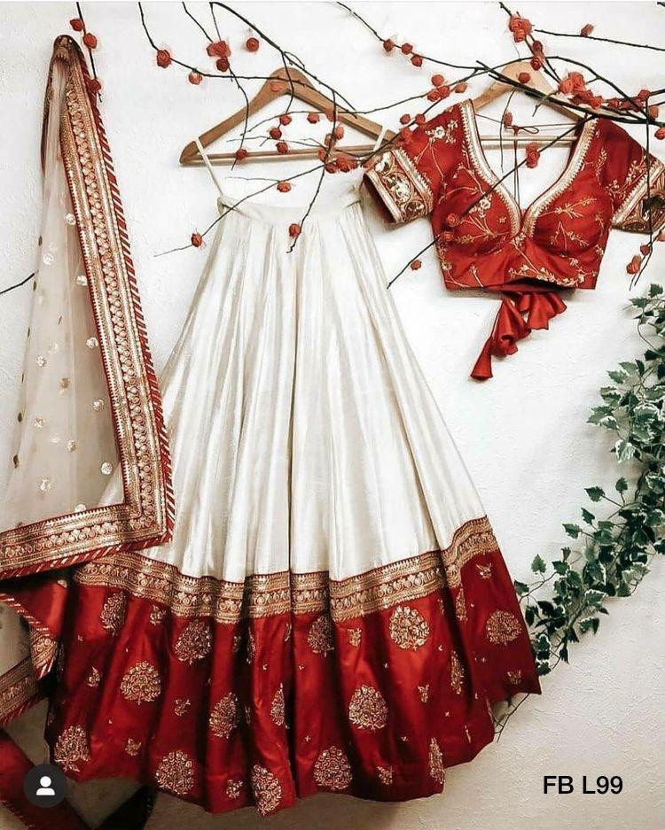 Wedding Wear Embroidery Lehenga Choli