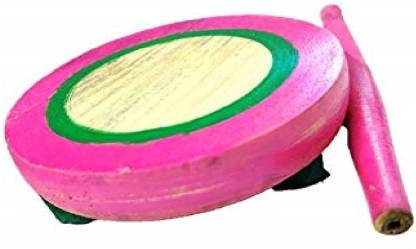 Pink color Wooden Chakala belan Rural Kitchen Toy Play Set for Kids Girls Kids Toys Chakla belan
