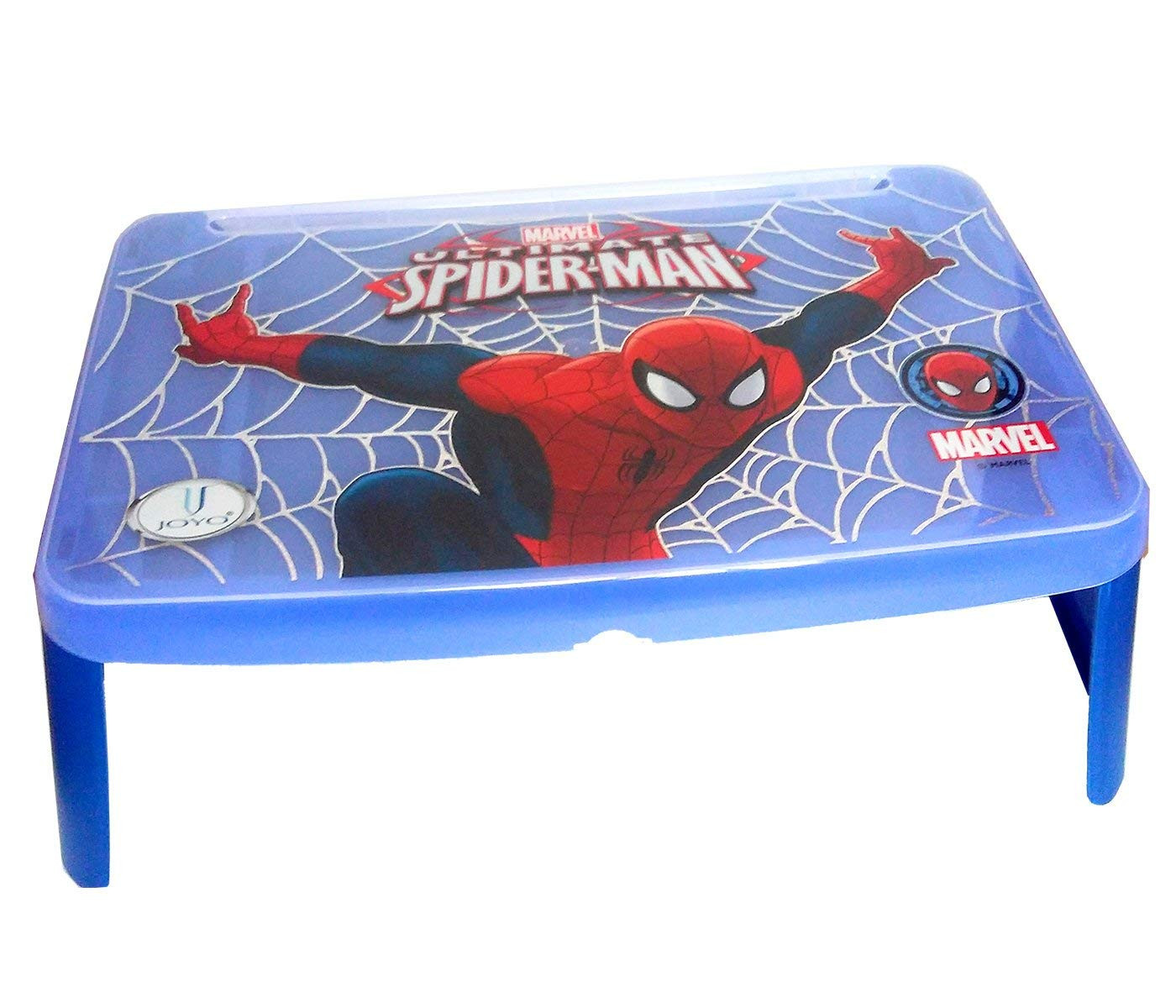 JOYO Portable New Desk Spiderman blue Laptop Table Bed Table Study Table Girl Kids Table