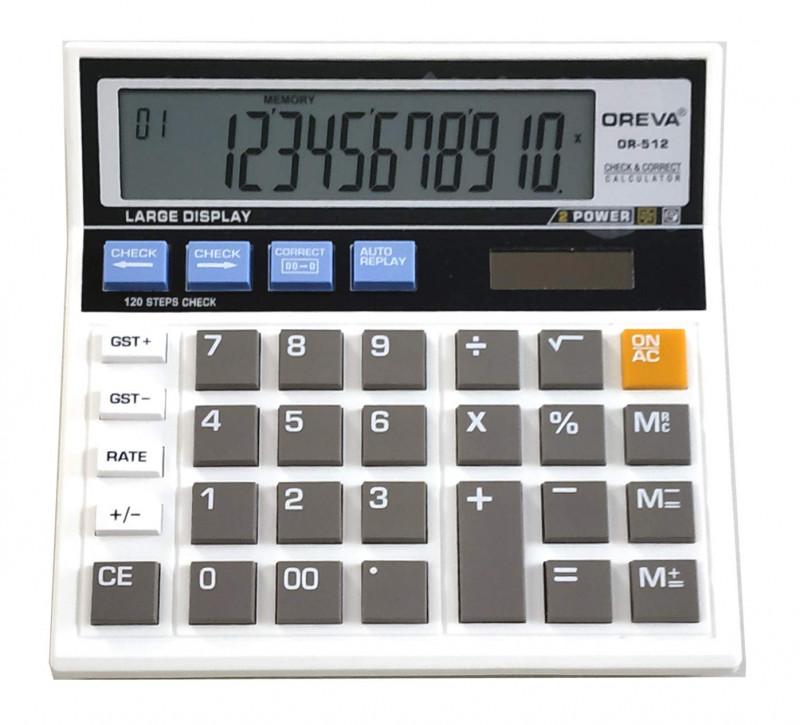 Oreva MCI512I Check Correct GST Calculator
