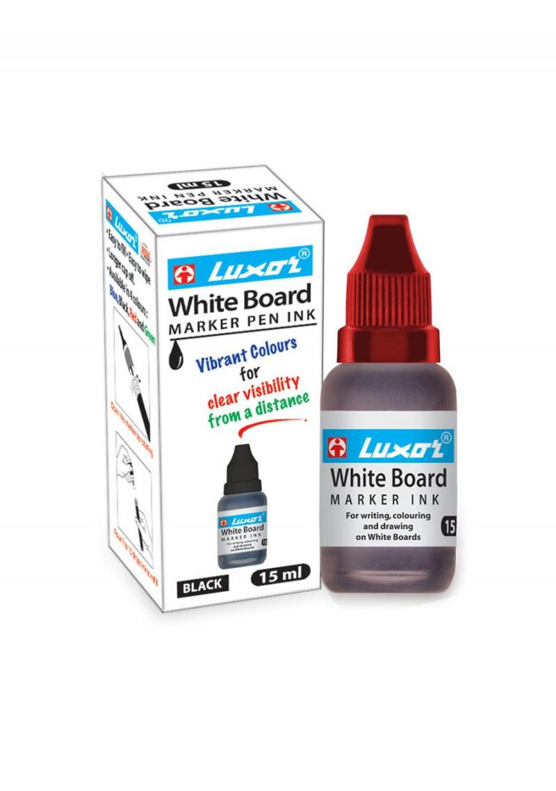 Luxor Whiteboard Marker Ink15 mlRed Pack of 1