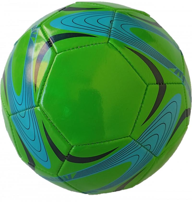 ILAVIZ Football For Boys & Girls Diameter 22 cm Pack of 1 Size 5 green Blue