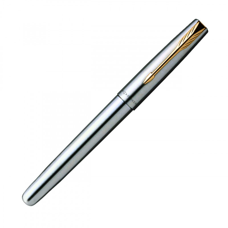 Parker Pen Personalized Frontier Stainless Steel GT Roller Ball Pen