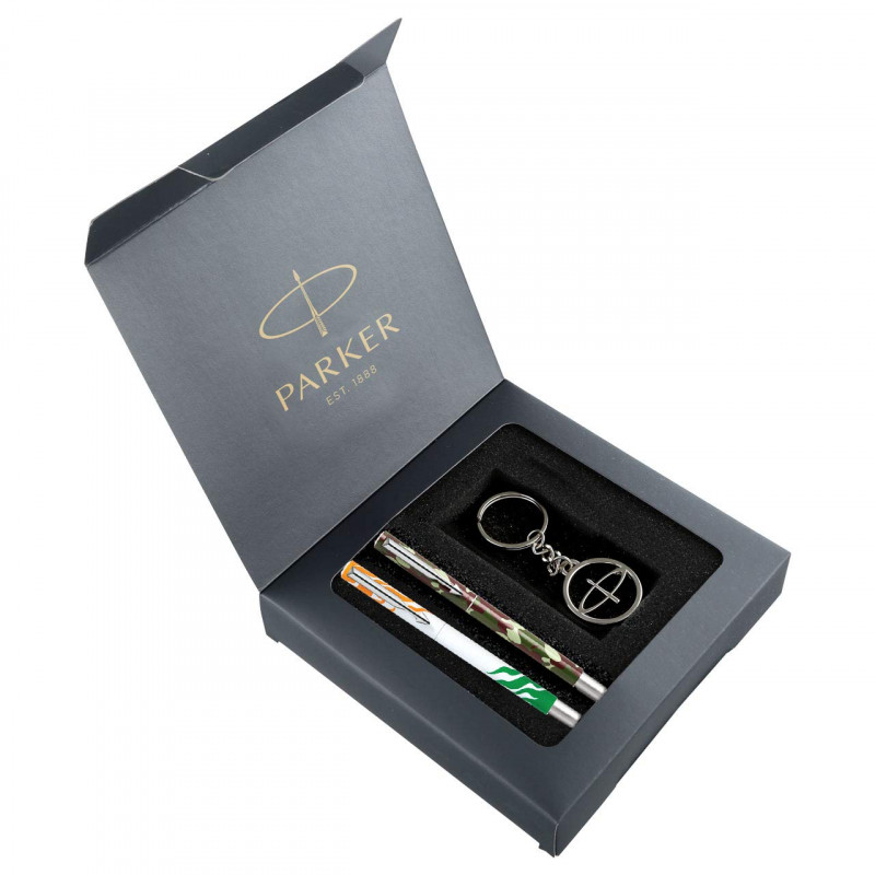 Parker Freedom Vector Pen Gift Set with Key chain