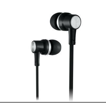 ERD HF 21 Black Earphone Flat Cable Smart Earphone