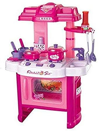 Big Kitchen Set for Girls  Pretend Kitchen Play Set