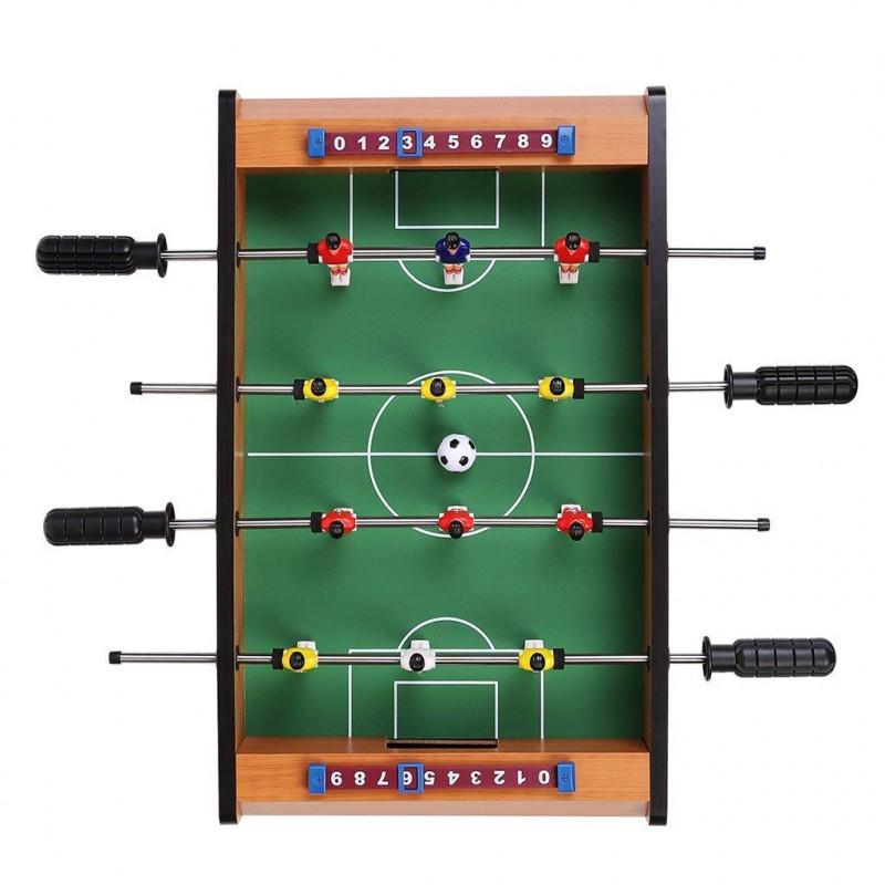 Kids Game original wooden mid sized foosball mini footballtable soccer game