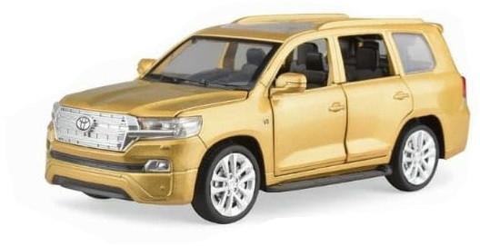 Kids Toy Car 3226B Diecast Toyoto Metal Brown Colour
