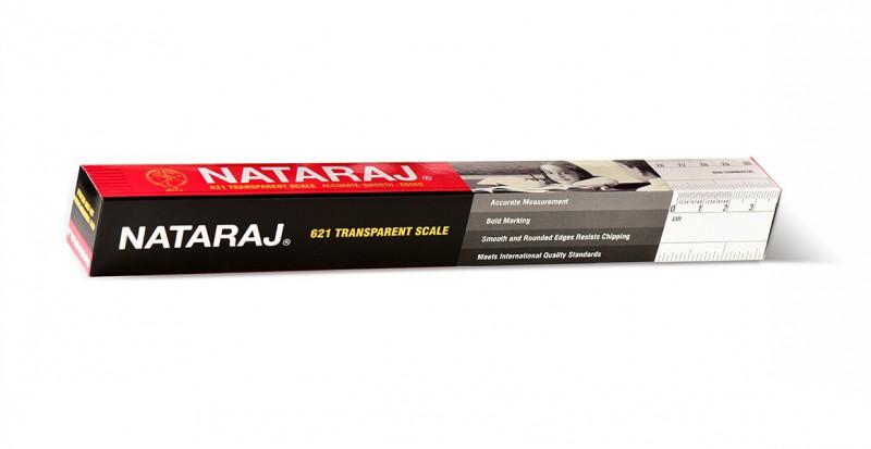 Nataraj Scale, 30 cm - Pack of 10