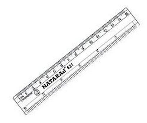 Nataraj Scale, 15 cm - Pack of 10