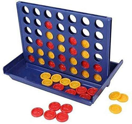 Kids Connect 4 Travel Set Plot 4Any Age Group Mind Calculation Fun Game for Kids