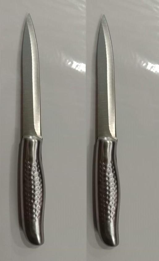 AnjaliKitchenware silver Line Kitchen knifeinpack of 2 pcs