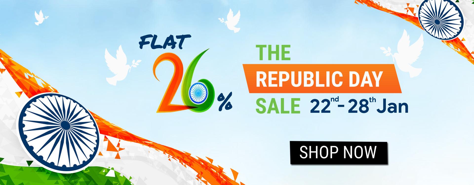 Republic Day 2020 Offer Online - YOYO Fashion