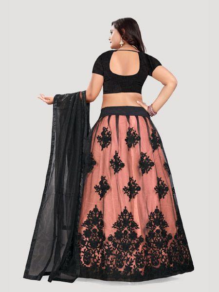 Buy Black Lehenga Choli Design For Women