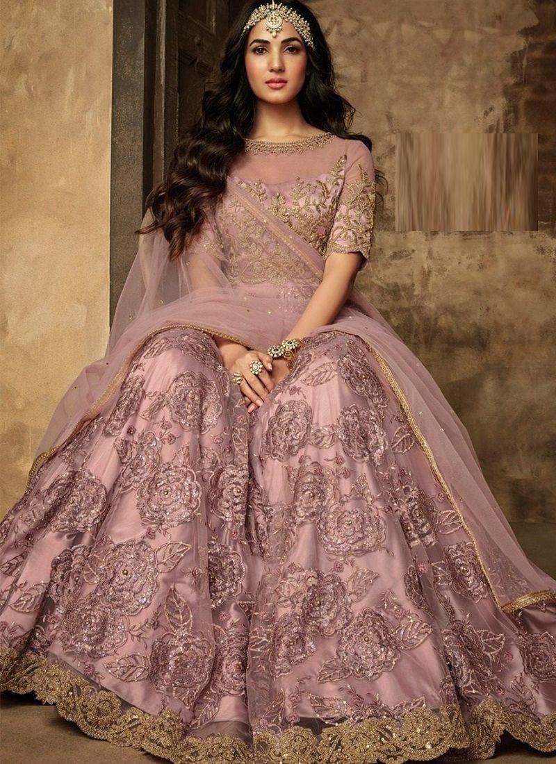 Sonal Chauhan Style Bollywood Lehenga Choli