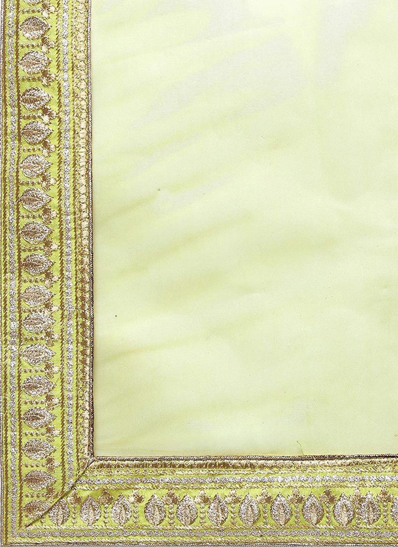 Alia Bhatt Lehenga Net Dupatta - L8001 - YOYO Fashion