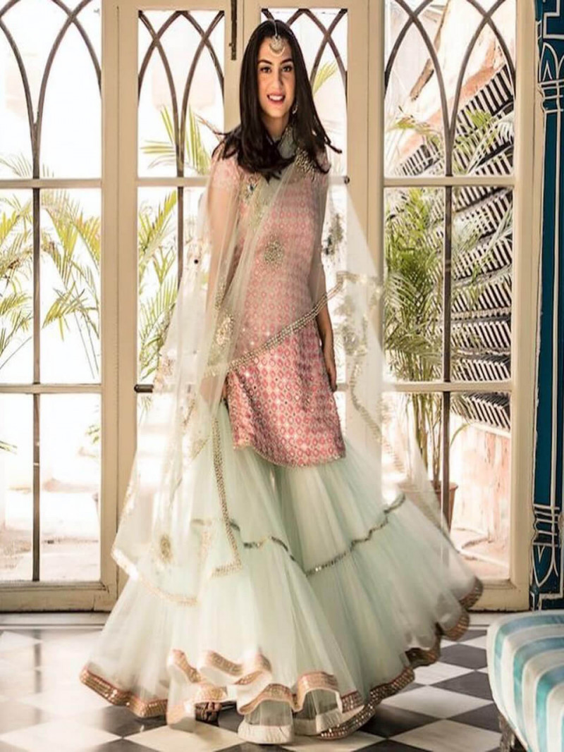 designer-heavy-embroidery-pink-and--light-green-sharara-suit