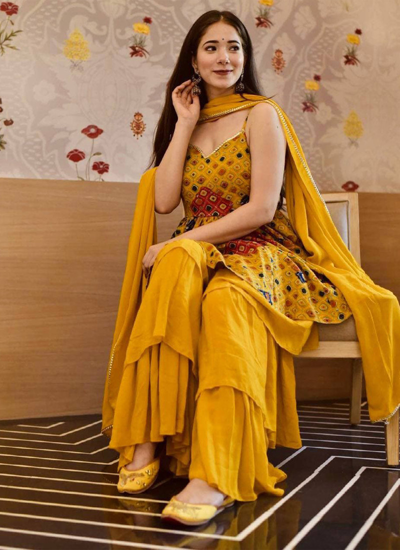 traditional-yellow-butter-silk-printed-fancy-plazzo-with-dupatta
