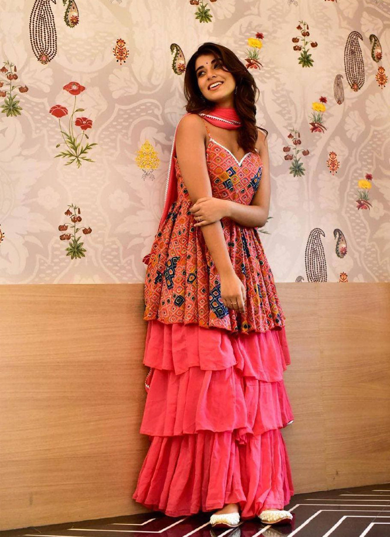 casual-wear-pink-butter-silk-printed-plazzo-with-dupatta