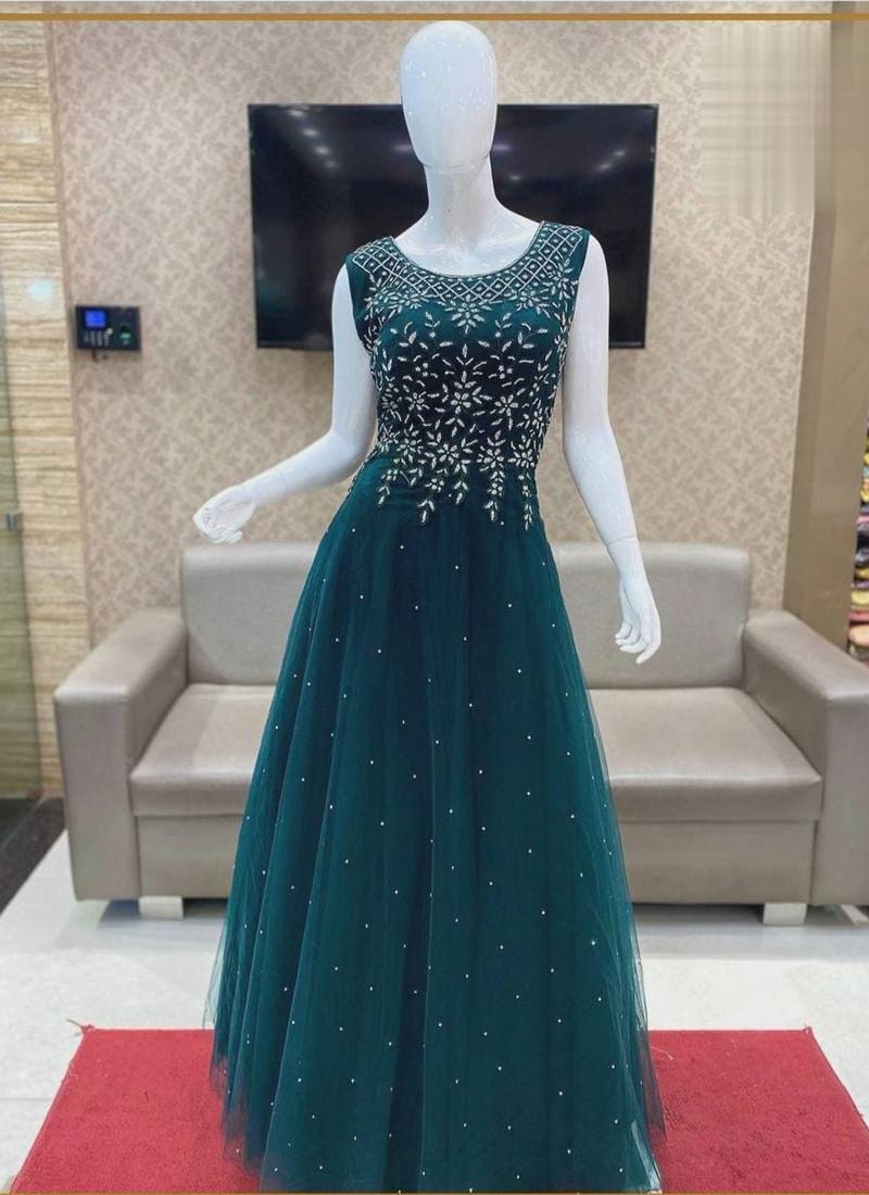 rama-party-wear-sleeveless-net-gown