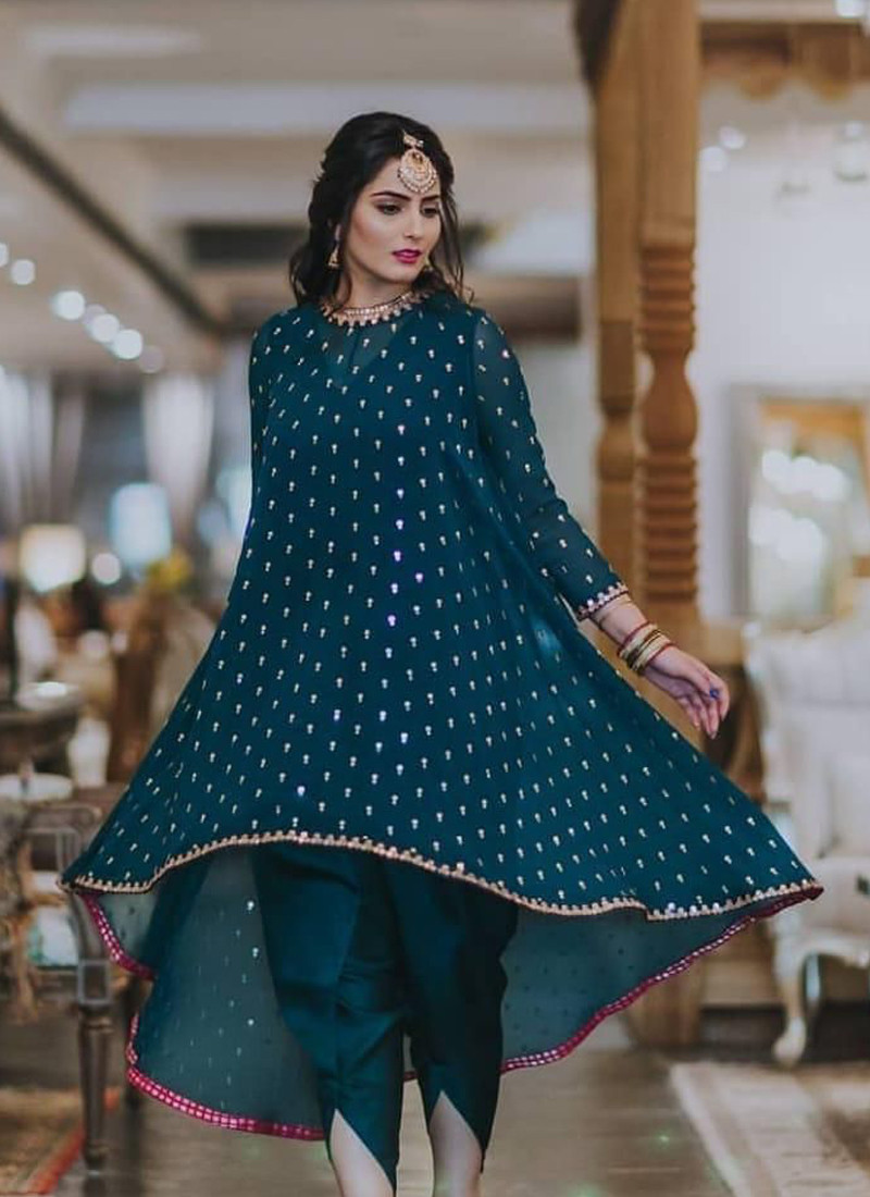 rama-heavy-georgette-updown-style-dhoti-suit-with-embroidery-work
