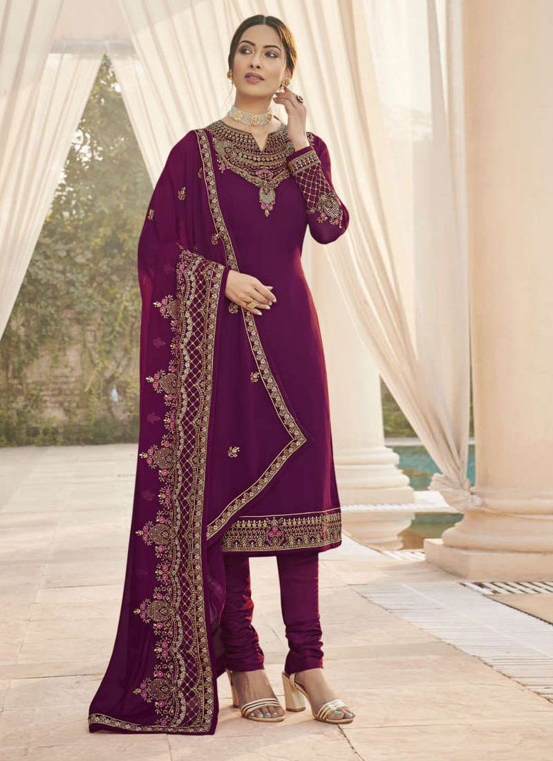 purple-gerogette-salwar-suit-with-embroidery-and-stone-work-
