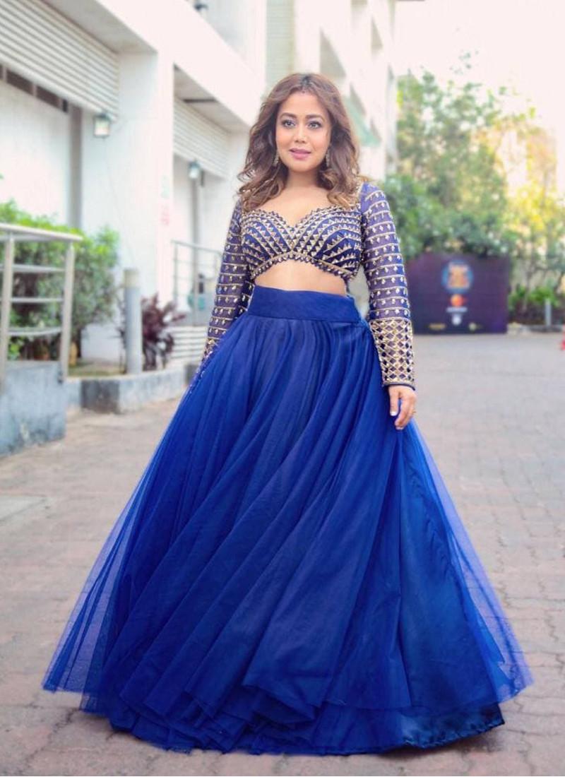 neha-kakkar-style-royal-blue-heavy-net-lehenga-choli-with-embroidery