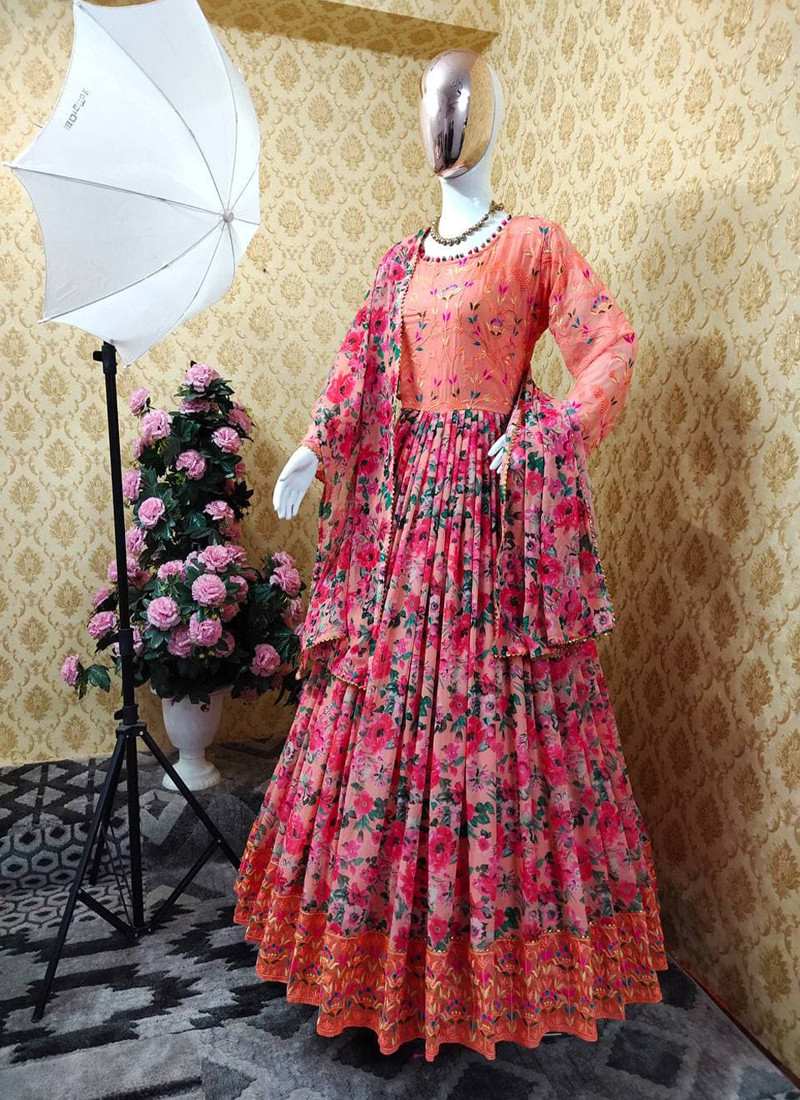 blossom-peach-floral-printed-full-sleeve-anarkali-suit-with-embroidery