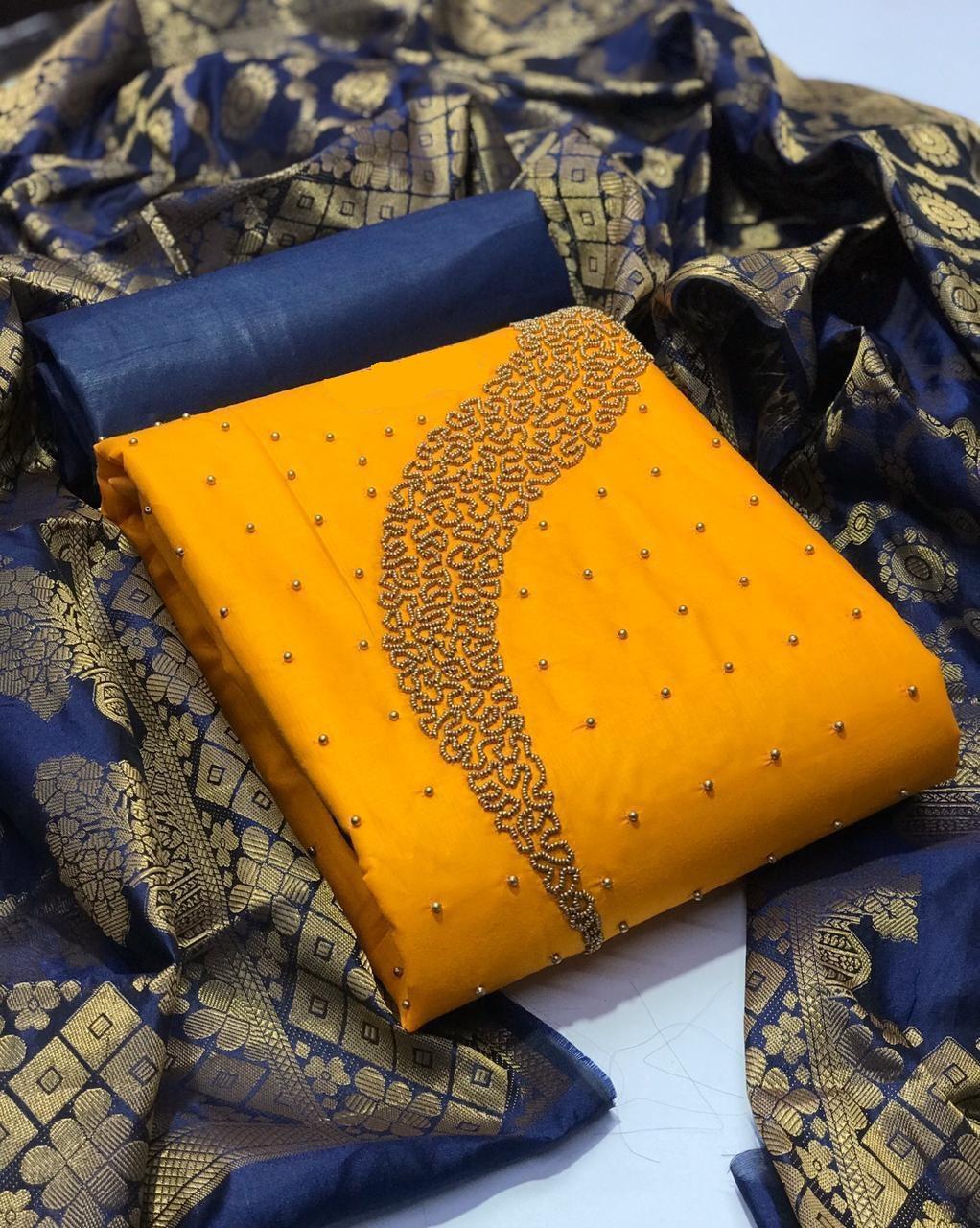 Cotton Salwar Suit Dress Material